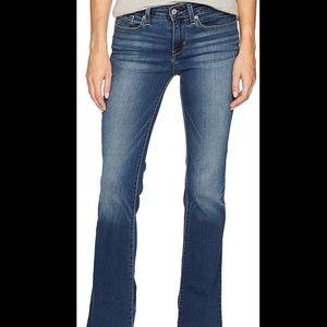Levi's Night Blues Low Rise Boot Cut Jeans Sz10x30
